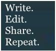 write edit share repeat 1